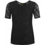 domace-tricko-golddigga-lace-t-shirt-ladies-black