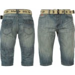 lee-cooper-poly-belt-shorts-mens-mid-wash