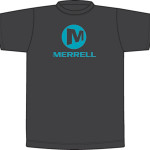 pánske tričká Merrell STACKED LOGO GRAPHIC JMS21887-030