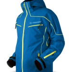 pánske bundy Trimm Snowball Sea Blue / Lemon