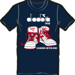 pánske tričká Diadora T-SHIRT SS 158791-60063