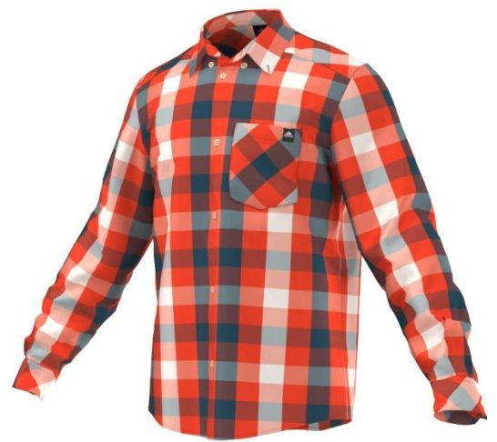 6c2a5894b576 Pánska športová košeľa Adidas ED Checko LS Shirt F91897 ...