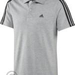 pánske tričká Adidas Essentials 3 Stripes Polo X19162