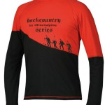 pánske tričká Direct Alpine BCS Shirt 1.0 black / red