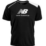 pánske tričká New Balance MRT0344BKW