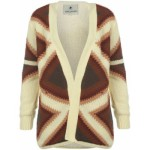 soul cal lined cardigan ladies cream burgundy 150x150 Firetrap Fur Collar Knitted Cardigan