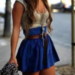 jarná sukňa